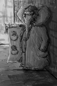 Elephant Salesman