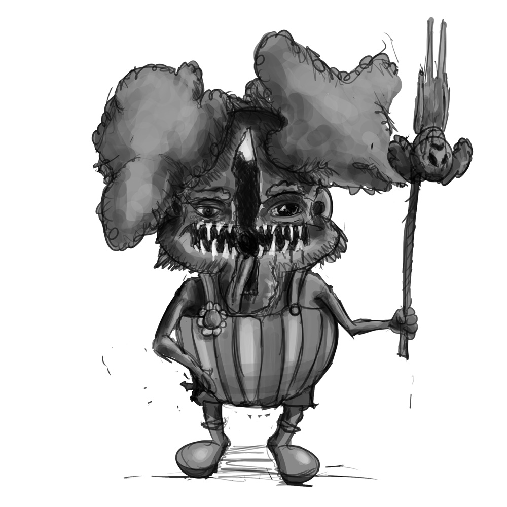 30 minutes - evil clown